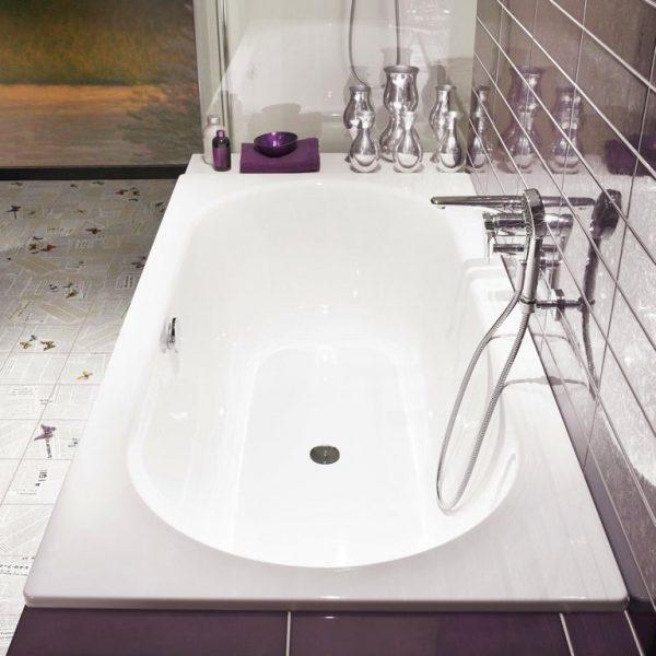 Bette Starlet Enamel Steel Built-In Bathtub