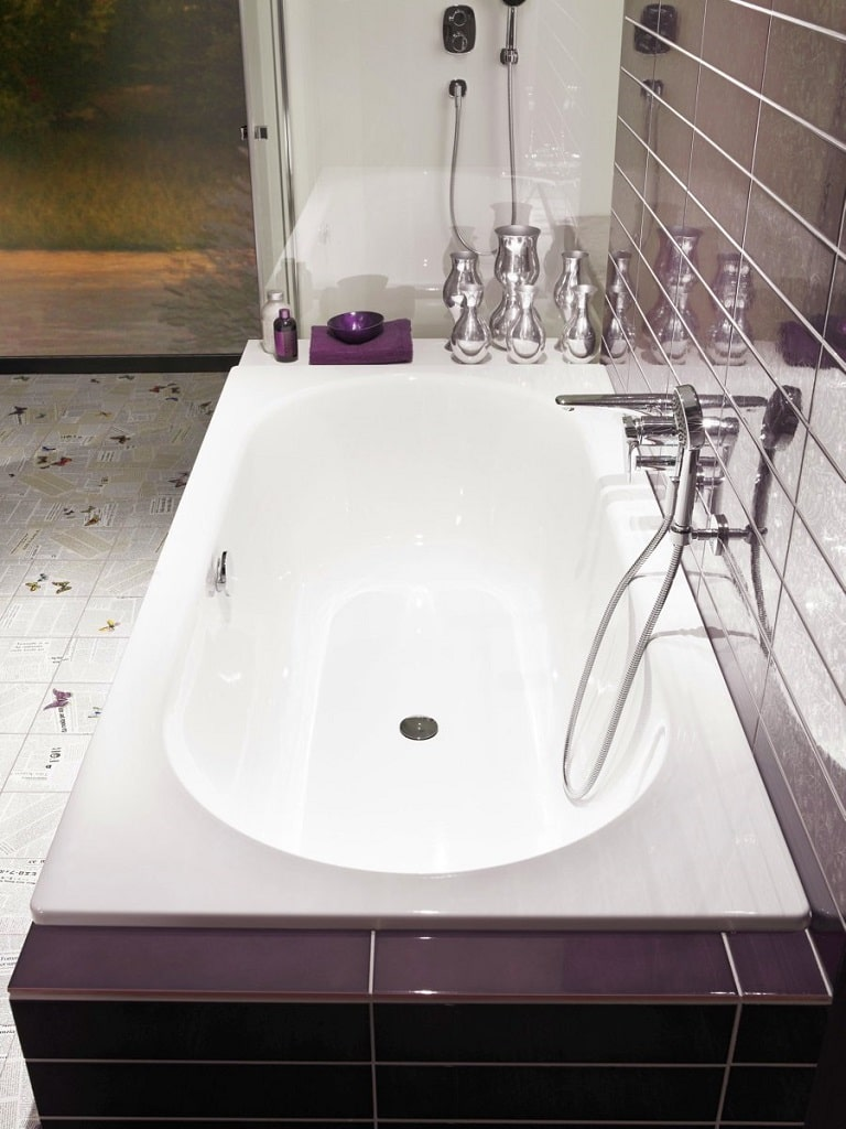 Bette Starlet Enamel Steel Built In Bathtub Bathhouse