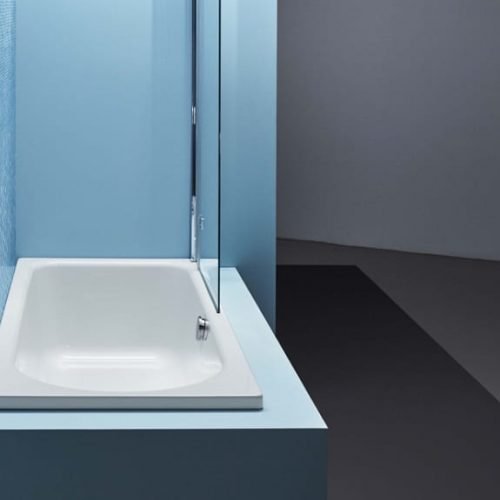 Bette Ocean Enamel Steel Built-In Bathtub
