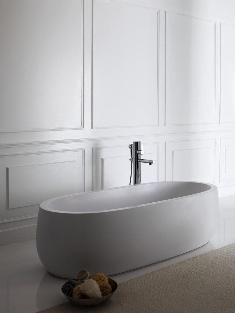 laufen il bagno alessi one freestanding bath bathhouse. Black Bedroom Furniture Sets. Home Design Ideas