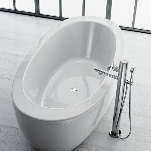 Laufen IL Bagno Alessi One Freestanding Bath