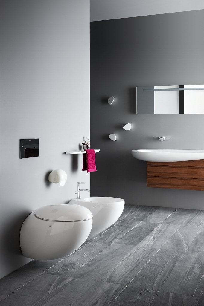 laufen il bagno alessi one sanitary ware collection. Black Bedroom Furniture Sets. Home Design Ideas
