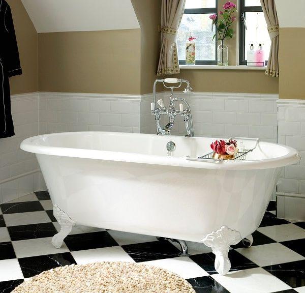 Victoria Albert Cheshire Quarrycast Freestanding Bath