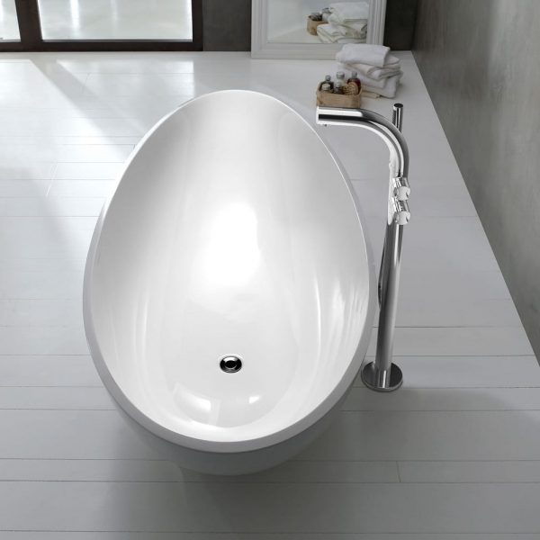 Victoria & Albert Napoli Quarrycast Freestanding Bath