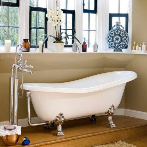 Victoria & Albert Roxburgh Quarrycast Freestanding Bath