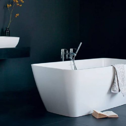 Clearwater Vicenza Piccolo Freestanding Composite Stone Bath