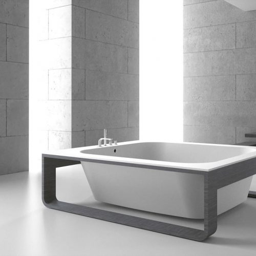 Hidrobox Alfa Composite Stone Freestanding Bath