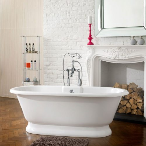 Victoria & Albert York Quarrycast Freestanding Bath
