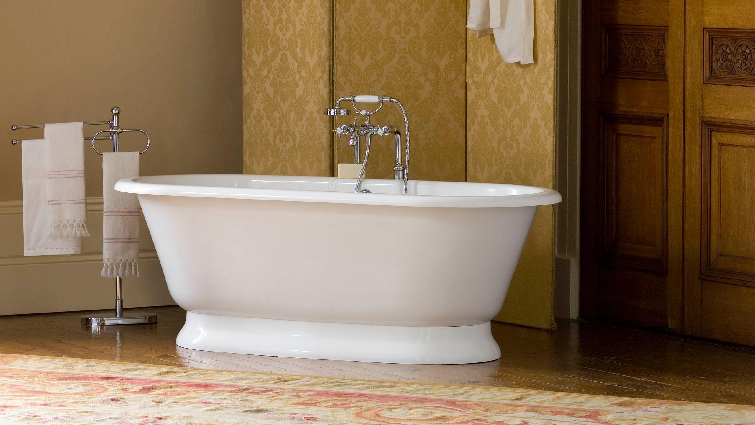 Victoria + Albert York Quarrycast Freestanding Bath – BATHHOUSE