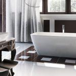 Clearwater Vicenza Piccolo Freestanding Composite Stone Bath