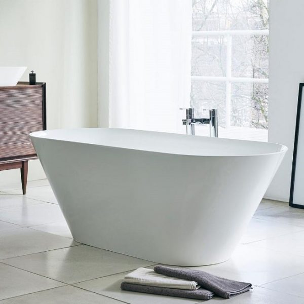 Clearwater Sontuoso Freestanding Composite Stone Bath