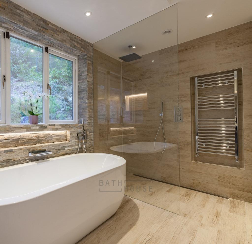 Family Bathroom Stepaside Co Dublin Bathhouse