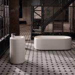 Bette Lux Oval Couture Enamel Steel Freestanding Bathtub
