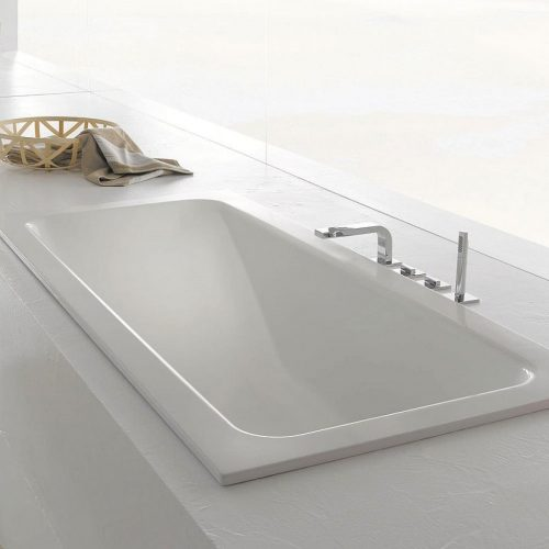 Bette One Relax Enamel Steel Built-In Bathtub