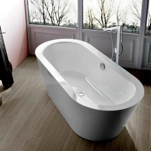 Bette Starlet Oval Silhouette Enamel Steel Freestanding Bathtub