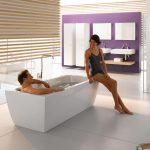 Bette Cubo Silhouette Enamel Steel Freestanding Bathtub