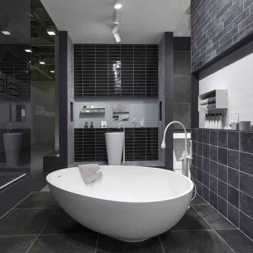Mastella Vov White Cristalplant Freestanding Bathtub