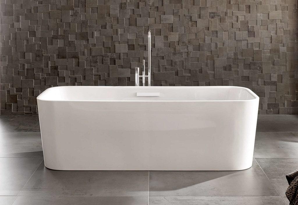 Bette Art Enamel Steel Freestanding Bathtub Bathhouse