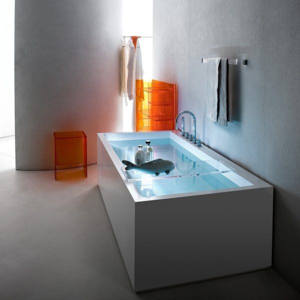 Laufen Kartell Freestanding Sentec Bathtub