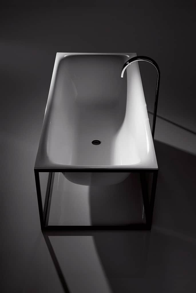 bette lux shape freestanding enamel steel bathtub bathhouse. Black Bedroom Furniture Sets. Home Design Ideas