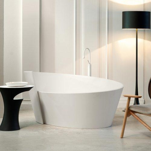 Mastella Anahita Cristalplast Freestanding Bathtub