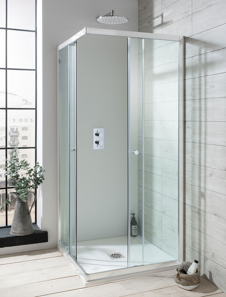 Crosswater Edge Shower Enclosure Collection Bathhouse