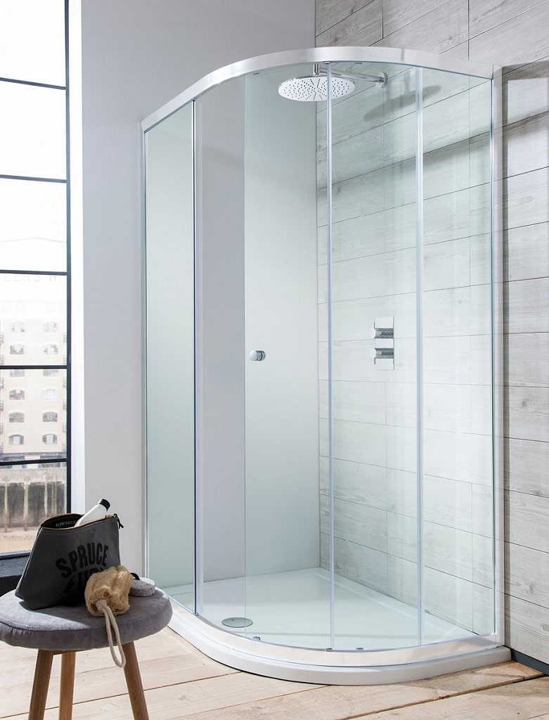 Crosswater Edge Shower Enclosure Collection Bathhouse