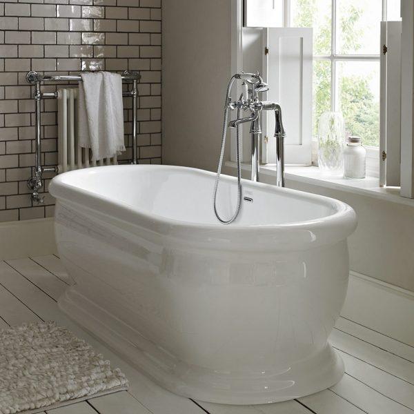 Heritage Derrymore Acrylic Freestanding Bath