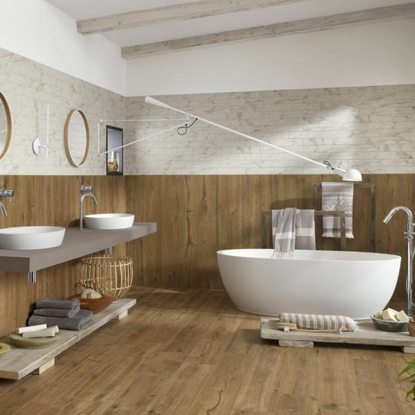 Mastella Heidi Cristalplant Freestanding Bath