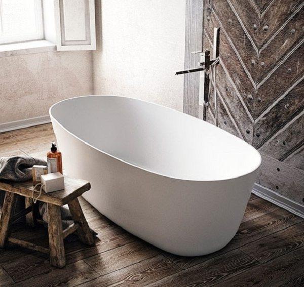 Mastella For You Cristalplant Freestanding Bathtub