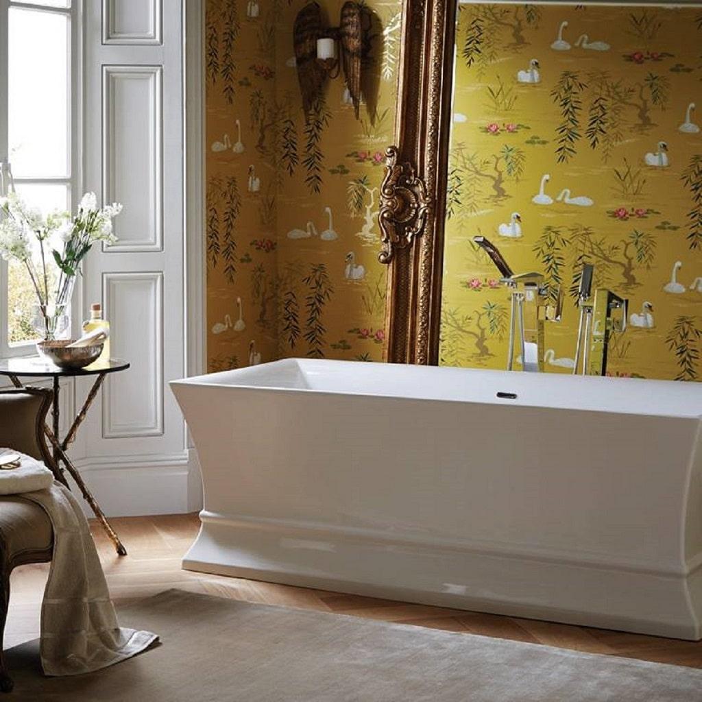 Heritage Penrose Acrylic Freestanding Bath – BATHHOUSE
