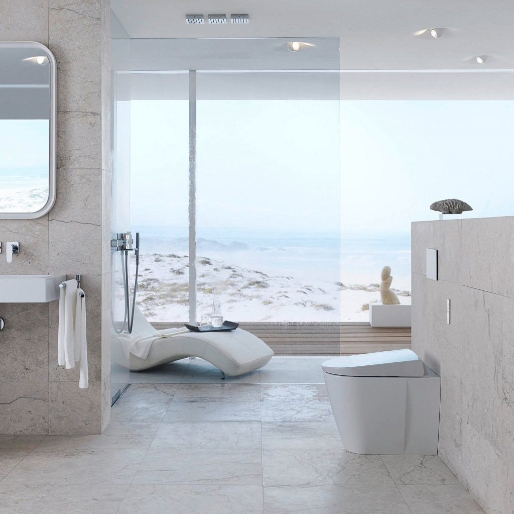 geberit aquaclean sela shower toilet bathhouse. Black Bedroom Furniture Sets. Home Design Ideas
