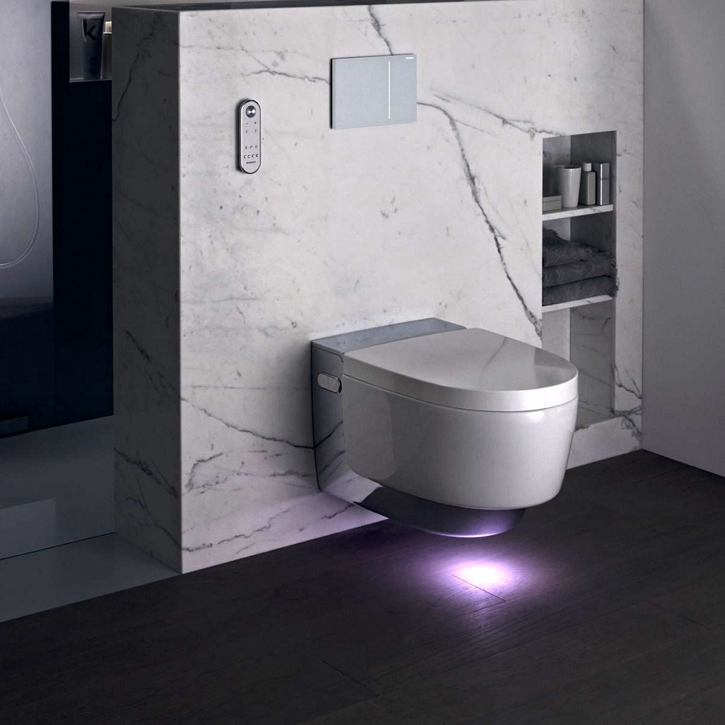 Geberit Aquaclean Mera Shower Toilet Bathhouse