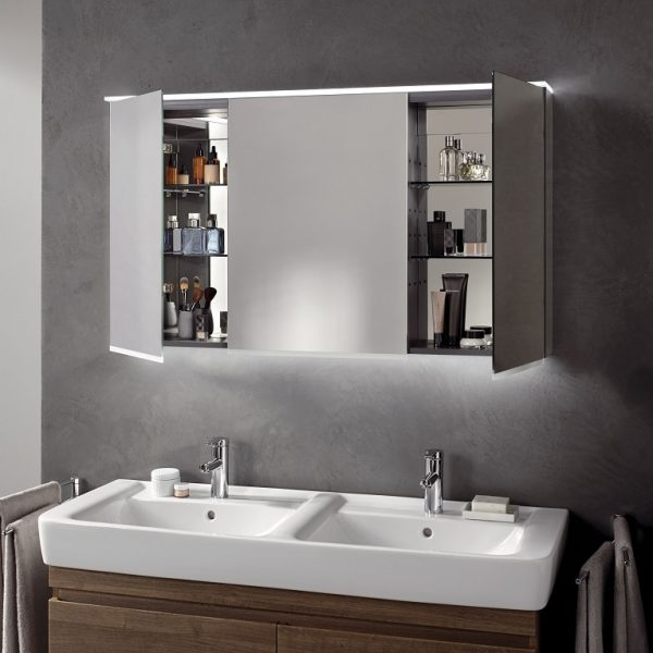 Geberit Mirrored Wall Cabinets