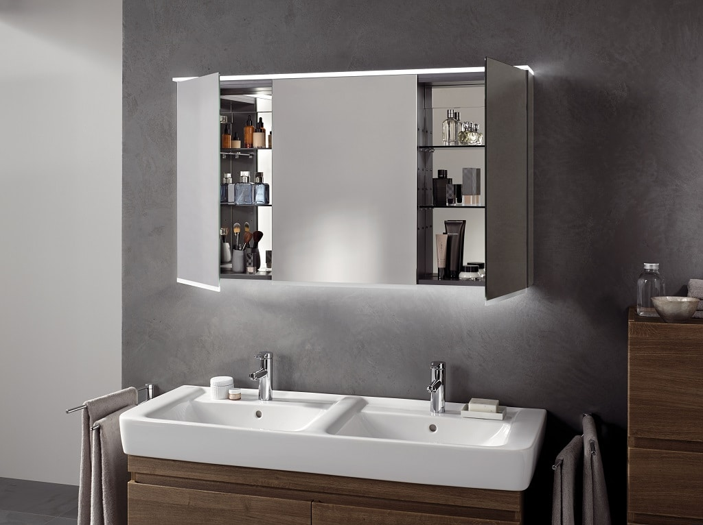 Geberit Mirrored Wall Cabinets Bathhouse