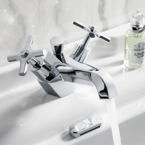 Crosswater Waldorf Brassware Collection