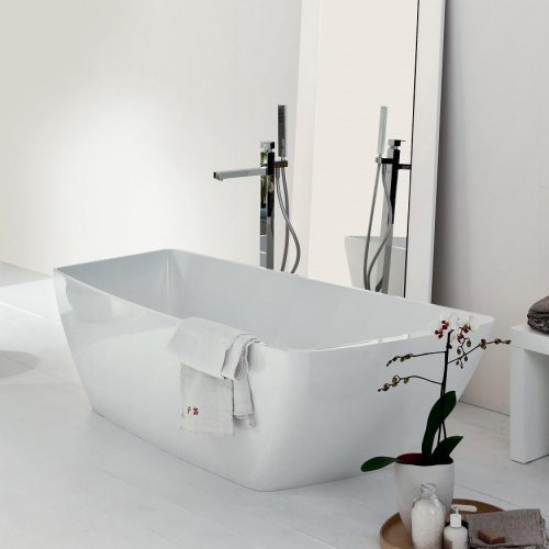 Mastella Yole Ceramilux Lux Freestanding Bathtub