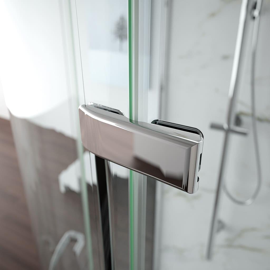 Merlyn 8 Series Frameless Door Offset Shower Quadrant