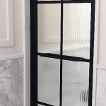 Drench Frame with Fluted Glass