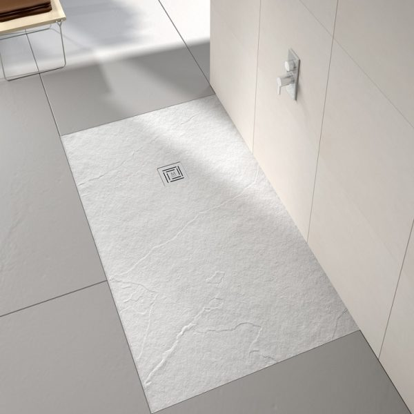 Merlyn - Truestone Rectangle White