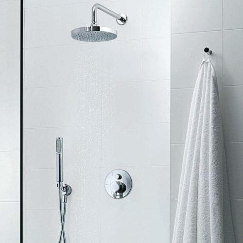 Zucchetti Round Contemporary Shower Head