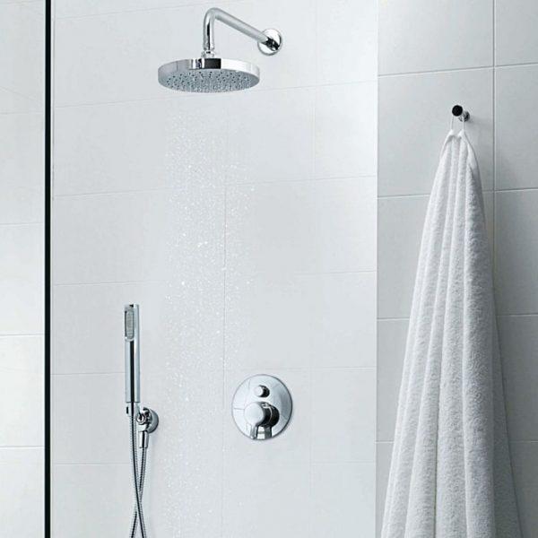 Zucchetti Round Contemporary Shower Head