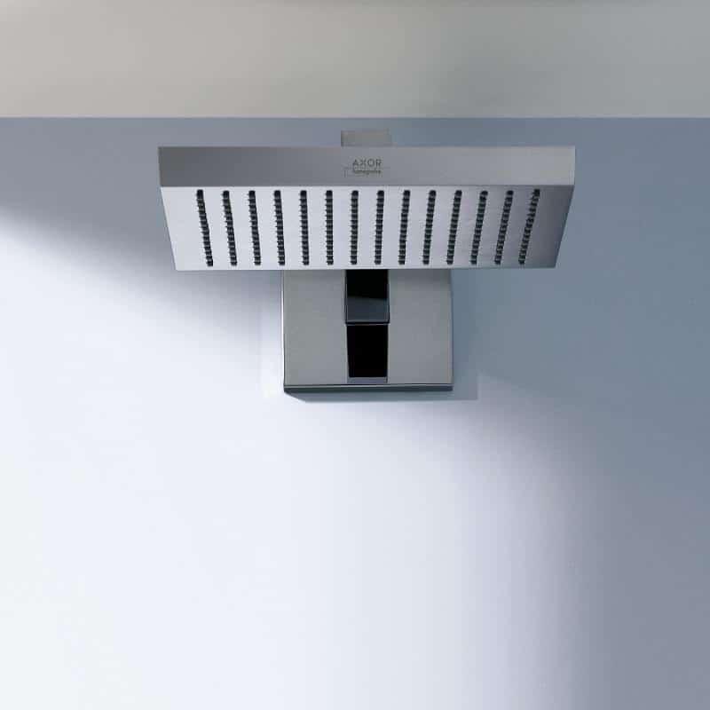 hansgrohe axor square rectangular shower heads bathhouse. Black Bedroom Furniture Sets. Home Design Ideas