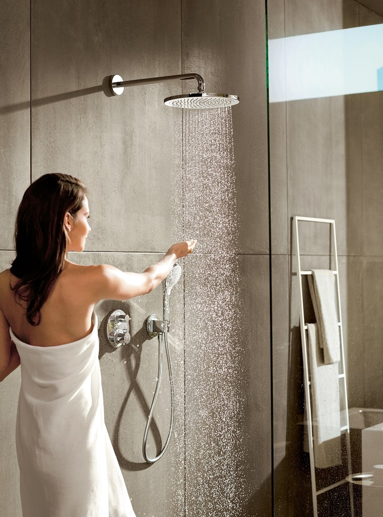 hansgrohe ecostat e s recessed shower valves bathhouse. Black Bedroom Furniture Sets. Home Design Ideas