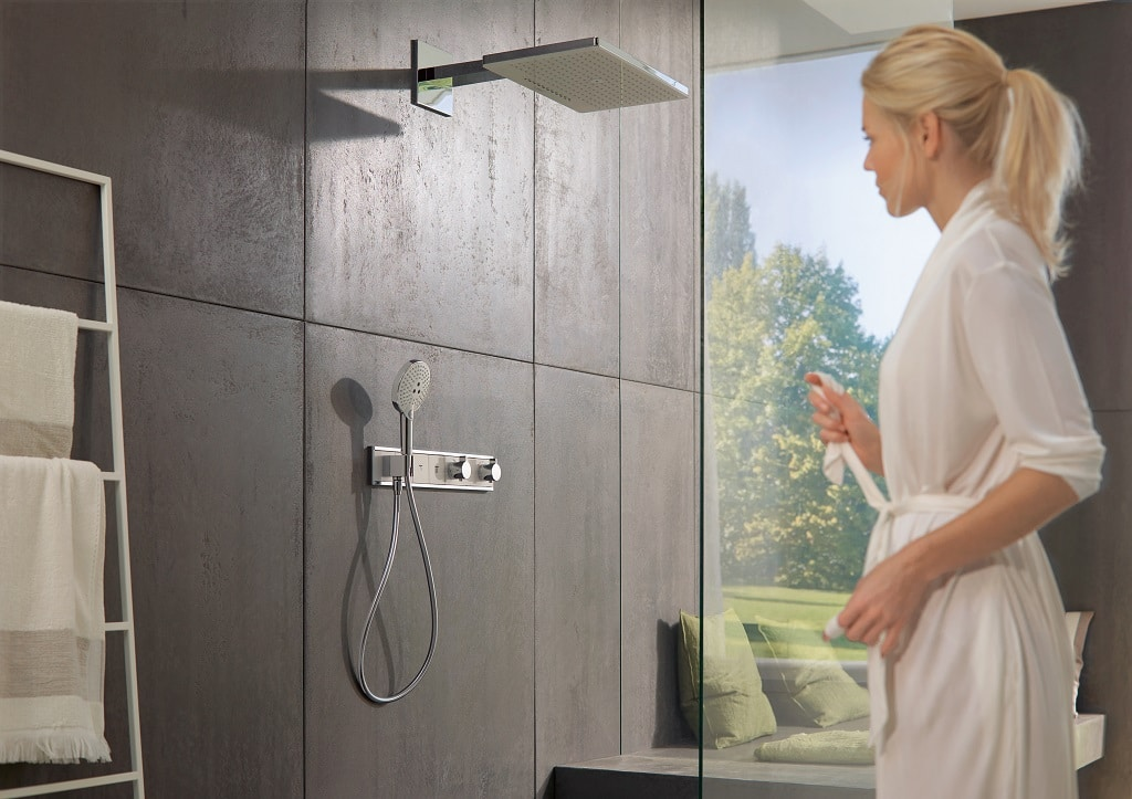 hansgrohe rainmaker shower heads bathhouse. Black Bedroom Furniture Sets. Home Design Ideas