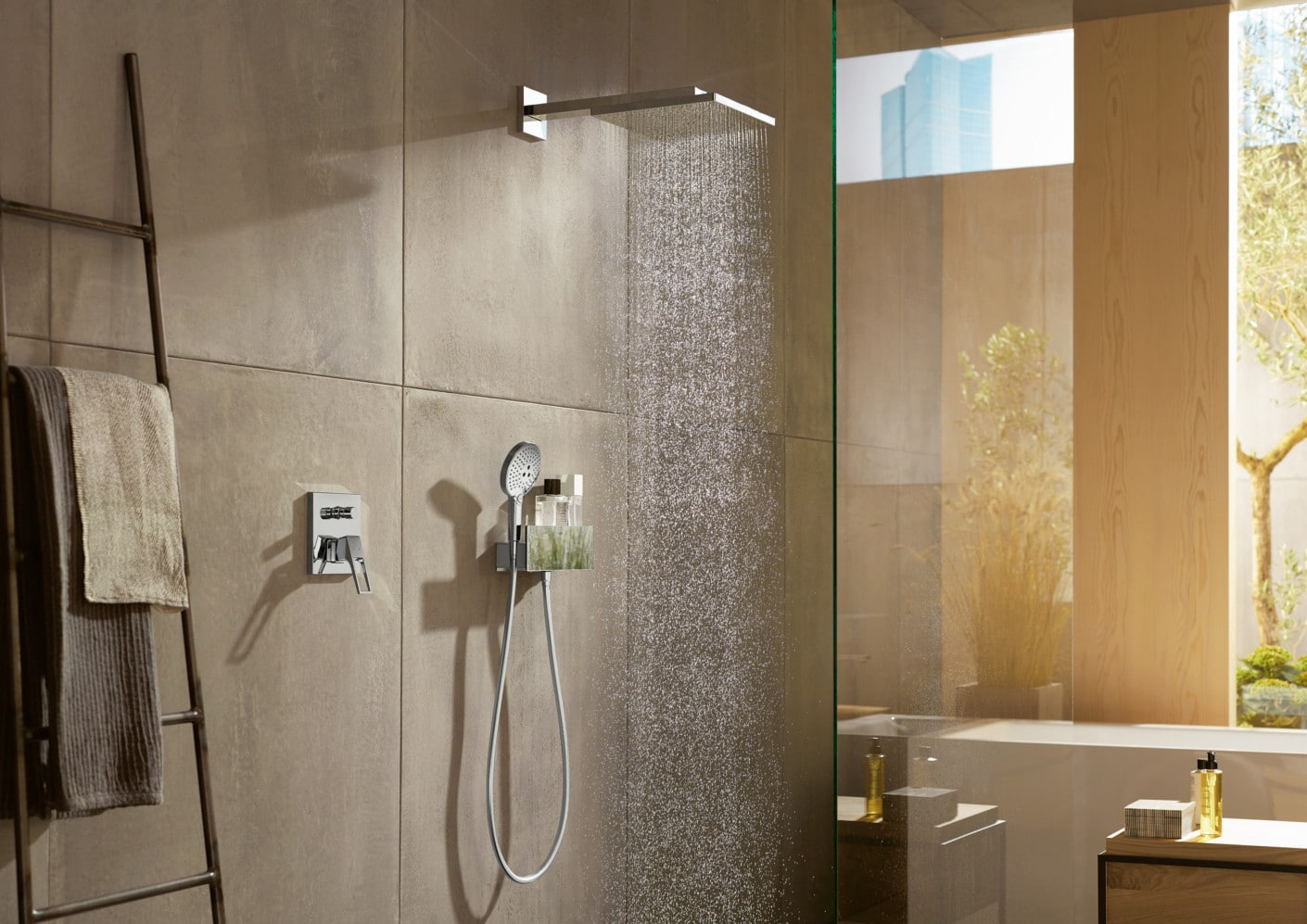 Hansgrohe Axor Square Rectangular Shower Heads Bathhouse