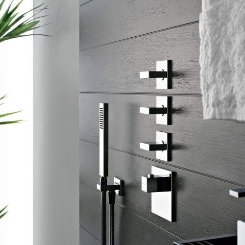 Gessi Rattangolo Shower Valves