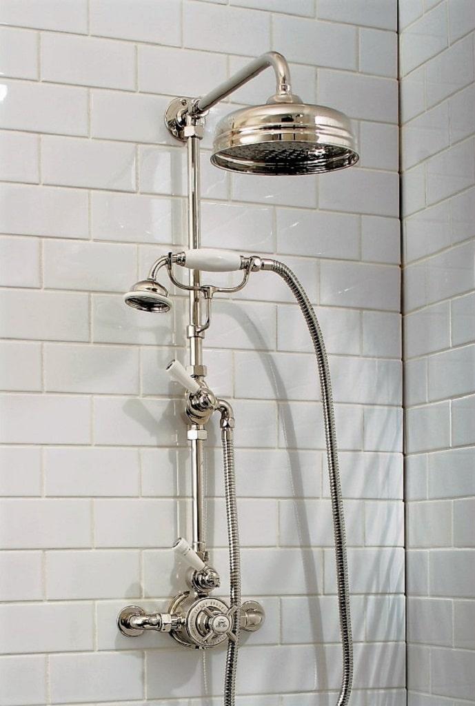 Lefroy Brooks Traditional Shower Heads – BATHHOUSE