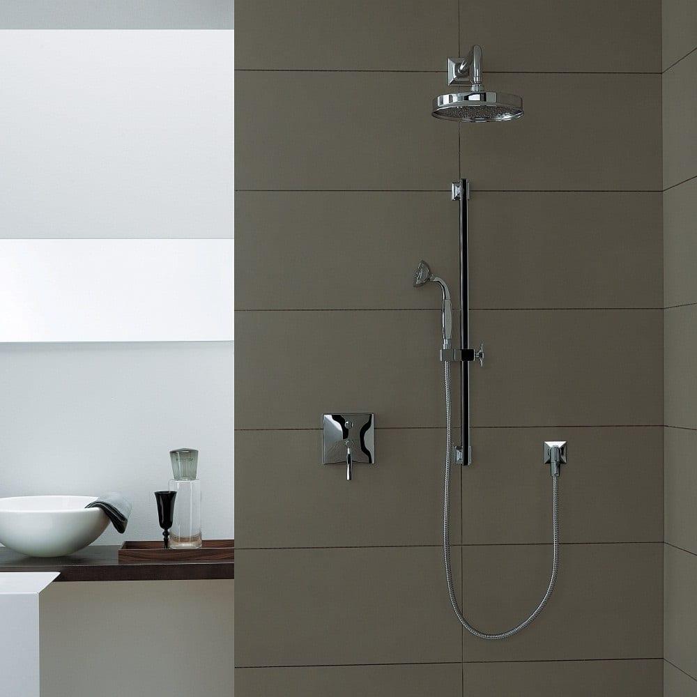Zucchetti Round Traditional Shower Head – BATHHOUSE