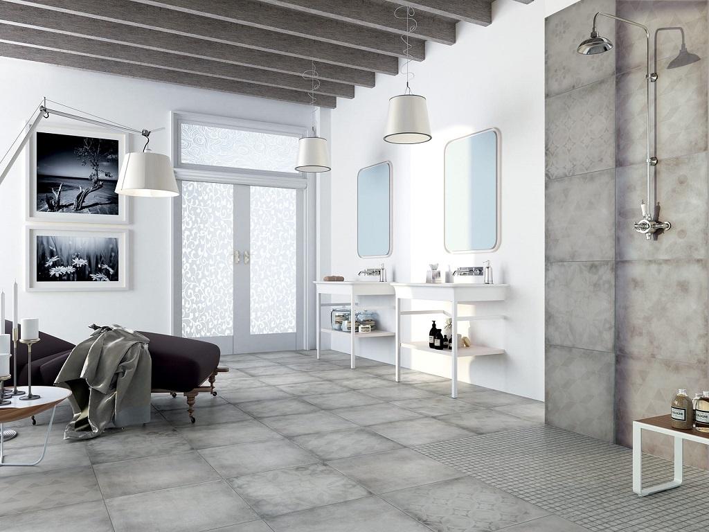 Piastrelle gres porcellanato rondine vintage pavimenti interni
